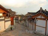 Domy v části Bukchon Hanok