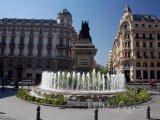 Fontána na náměstí