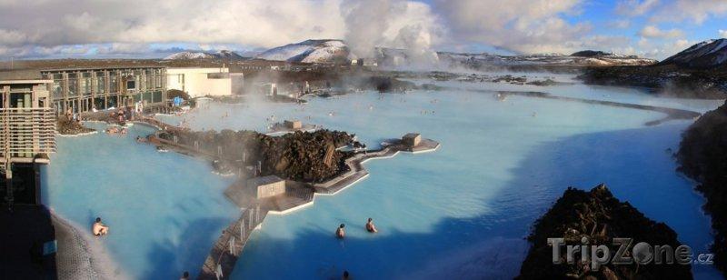Fotka, Foto Geotermální lázně Modrá laguna (Reykjavík, Island)