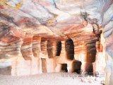 Hrobky ve skalním městě Petra