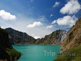 Jezero u sopky Pinatubo