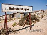 Kolmanskop, město duchů v poušti Namib