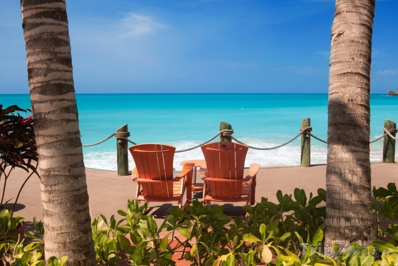 Fotka, Foto Lehátka na pláži (Antigua a Barbuda)