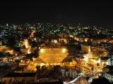 Město Ammán v noci