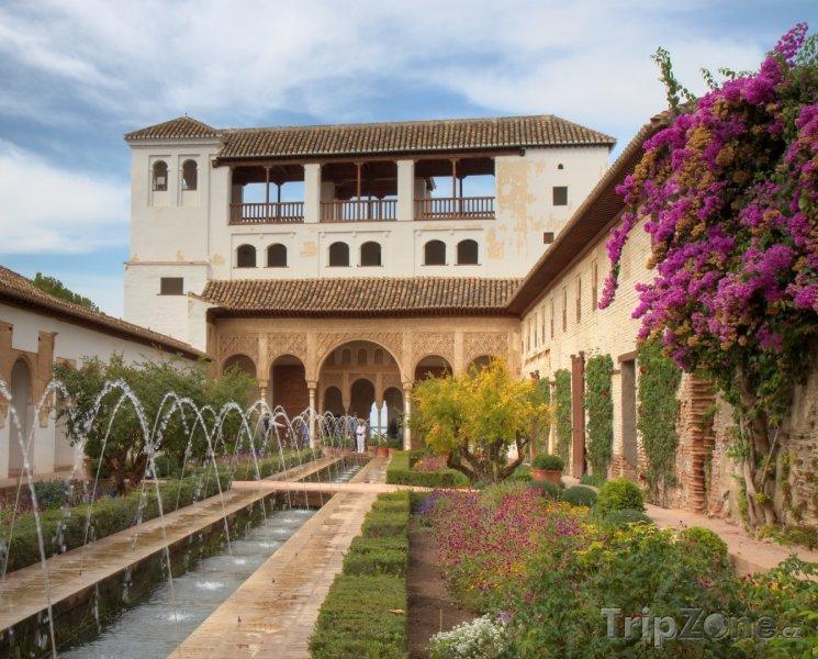 Fotka, Foto Palacio de Generalife (Granada, Španělsko)
