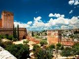 Panoráma komplexu Alhambra