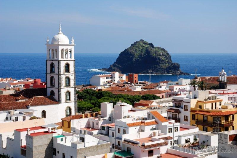 Fotka, Foto Panoráma města Garachico (Tenerife, Španělsko)