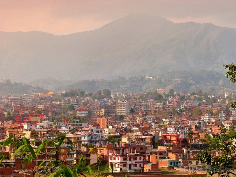 Fotka, Foto Panoráma města Káthmándú (Nepál)