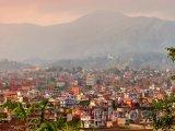 Panoráma města Káthmándú