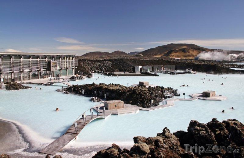 Fotka, Foto Panoráma Modré laguny (Reykjavík, Island)