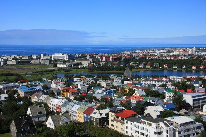 Fotka, Foto Panoráma (Reykjavík, Island)