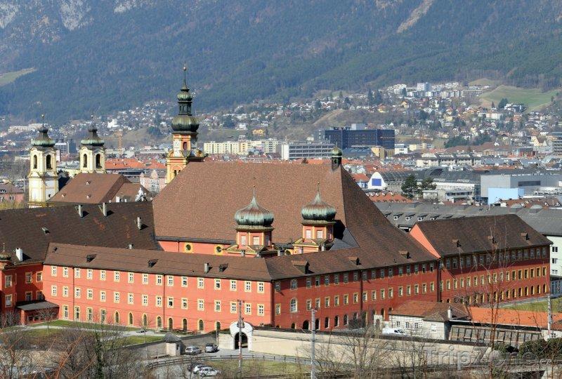 Fotka, Foto Panoramatický pohled na město (Innsbruck, Rakousko)