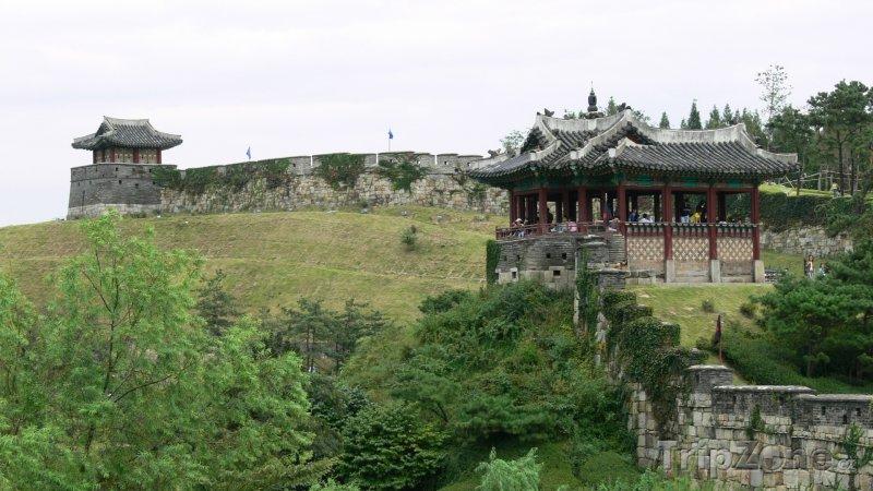Fotka, Foto Pevnost Hwaseong (Soul, Jižní Korea)