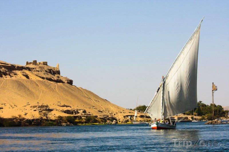 Fotka, Foto Plavba po řece Nil (Egypt)