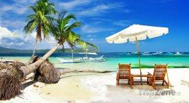 Pláž na ostrově Palawan