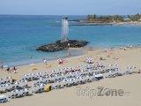 Pláž Playa de Las Vistas ve městě Los Cristianos