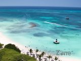 Pláž ve městě Palm Beach