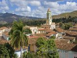 Pohled na město Trinidad