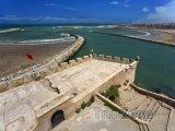 Pohled na oceán z pevnosti Udayas