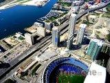 Pohled na stadion Rogers Centre