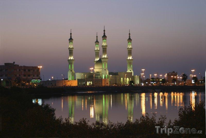 Fotka, Foto Ras al-Khaimah - mešita Sheikh Zayed (Spojené arabské emiráty)