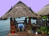 Restaurace na moři