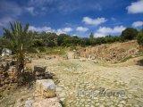 Řimská cesta v pohřebišti Chellah