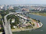 Singapore flyer, největší Ruské kolo na světě