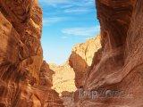 Siq, vstup do skalního města Petra