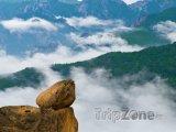 Skála v národním parku Seoraksan