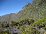 Štít vulkánu Piton de la Fournaise