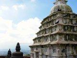 Stúpa v komplexu Swayambhunat