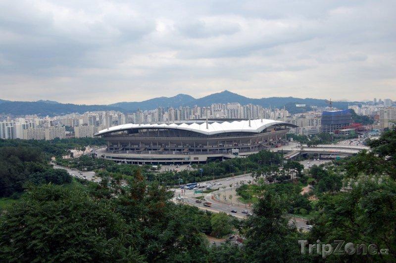 Fotka, Foto World Cup Stadium (Soul, Jižní Korea)