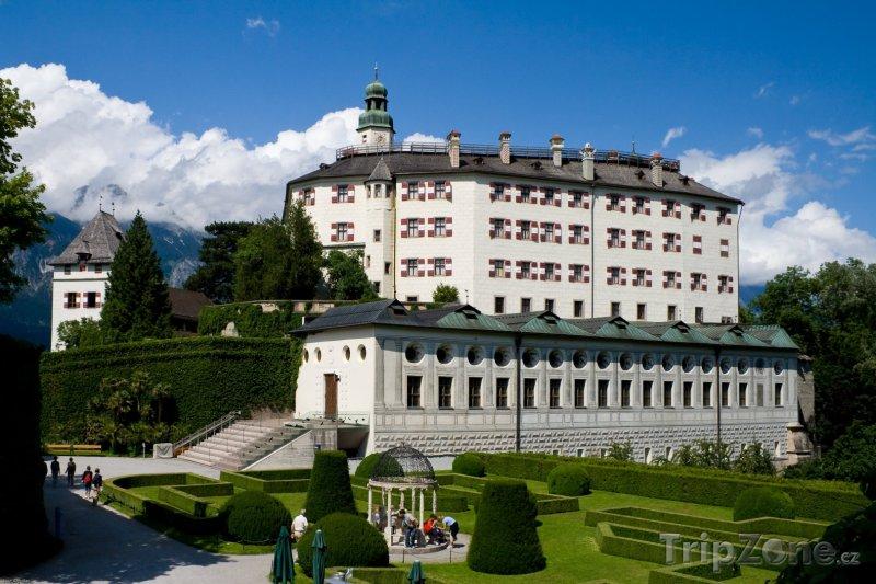 Fotka, Foto Zámek Ambras (Innsbruck, Rakousko)