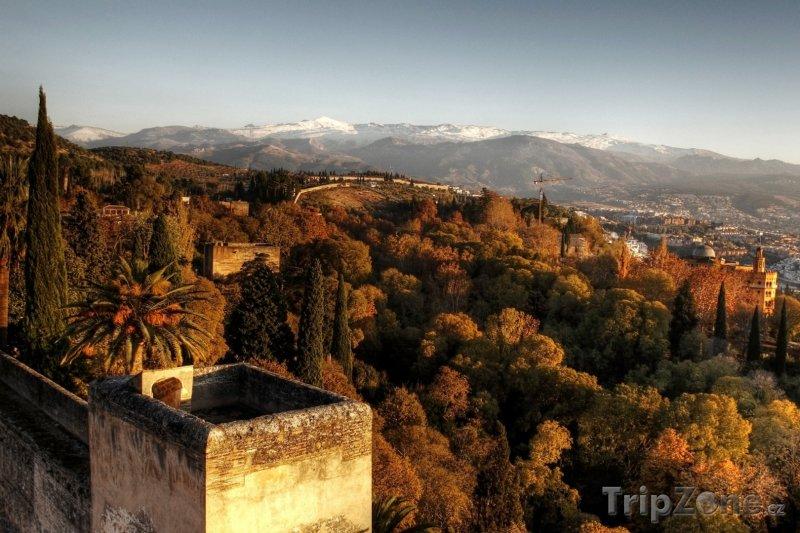 Fotka, Foto Západ slunce (Granada, Španělsko)