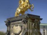 Zlatá socha Augustuse II. Silného