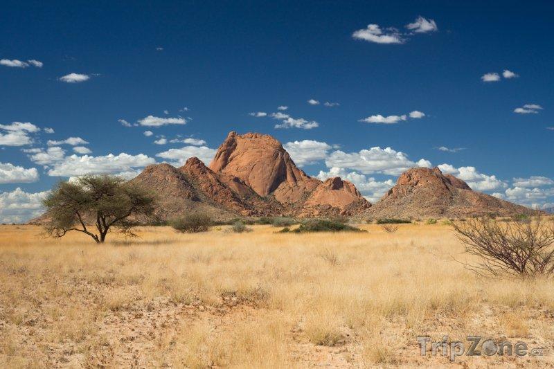 Fotka, Foto Žulové hory Spitzkoppe (Namibie)