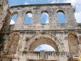 Brána v Diokleciánově paláci