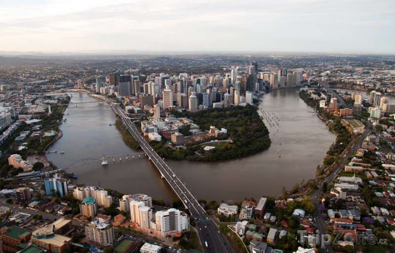 Fotka, Foto Brisbane panorama (Austrálie)