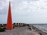 Červený obelisk otroků