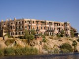 Domy na břehu Nilu