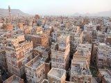 Domy ve městě Sanaa