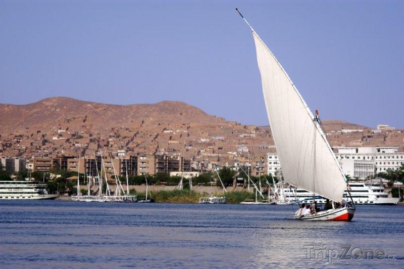 Fotka, Foto Feluka u Asuánu (Asuán, Egypt)