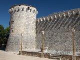 Hrad Frankopan ve městě Krk