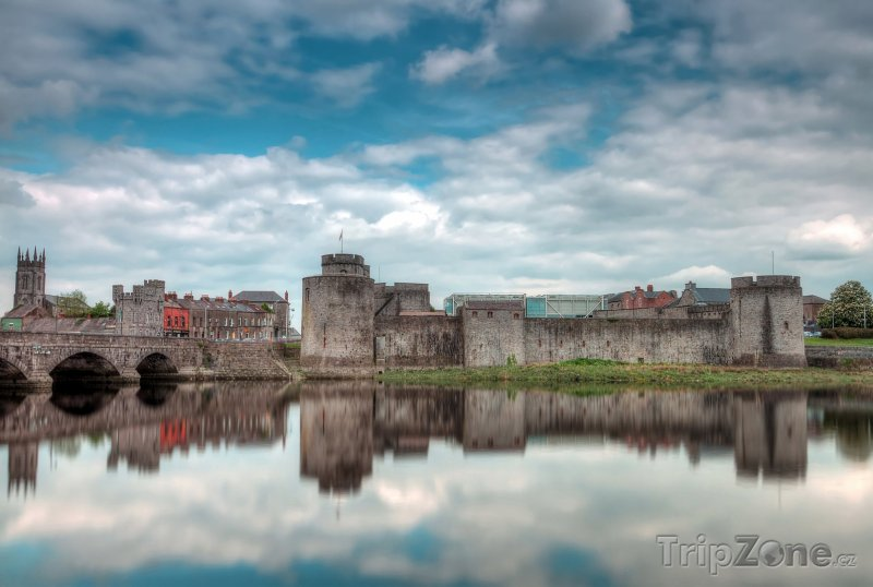 Fotka, Foto Hrad krále Jana v Limericku (Irsko)