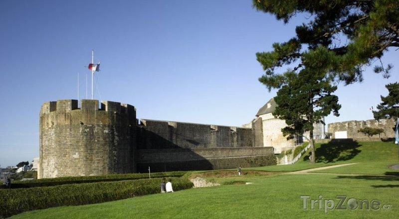 Fotka, Foto Hrad v Brestu (Francie)