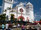Katedrála ve městě Juayúa
