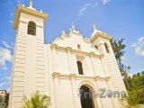 Kostel ve městě Santa Lucía
