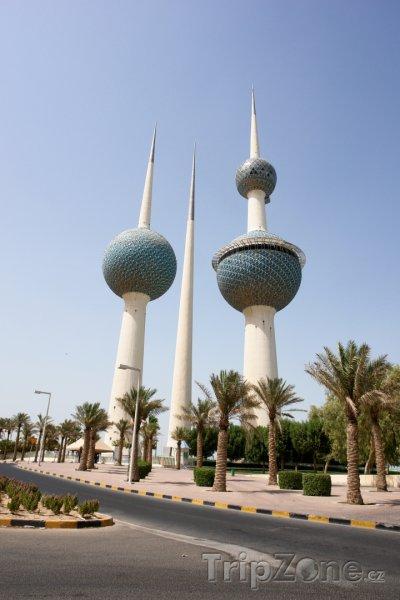 Fotka, Foto Kuwait Towers (Kuvajt)
