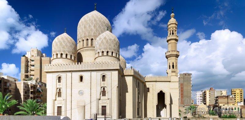 Fotka, Foto Mešita El-Mursi Abul Abbas (Alexandrie, Egypt)